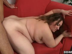 Big belly plumper gets fucked from behind