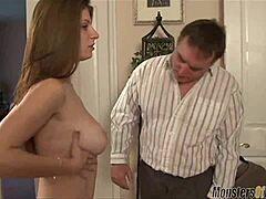 Daddy Chubby Tochter Große Titten